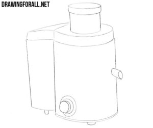 How to draw a juicer easy