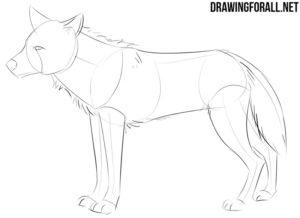How to sketch an anime animal