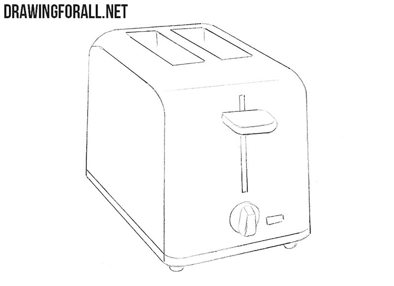 Toaster drawing turorial