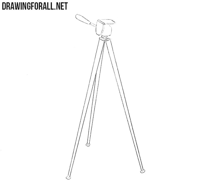 Tripod drawing tutorial
