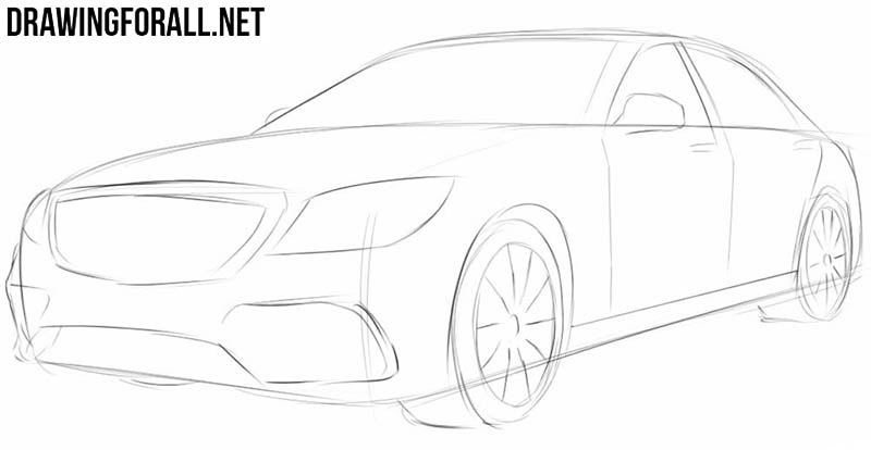 Крутые рисунки автомобилей