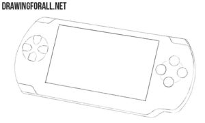 How to draw a Playstation