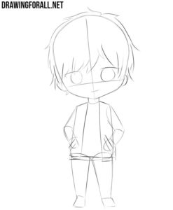 How to draw chibi for beginners