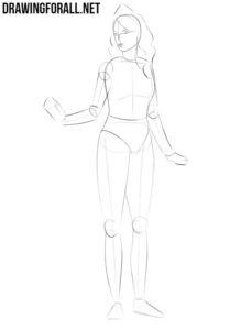 How to sketch a princess