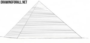 Pyramid drawing tutorial