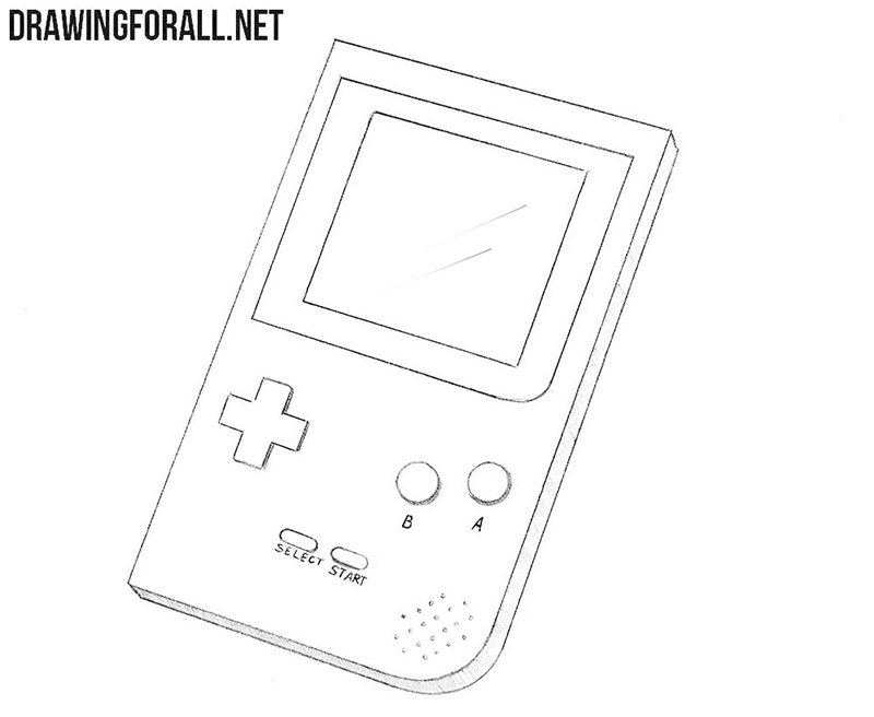 How to draw a gameboy