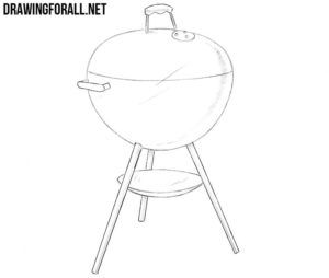 How to draw a grill