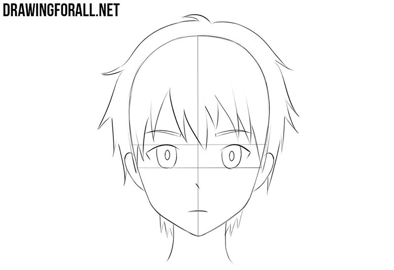 How To Draw An Anime Face Drawingforall Net