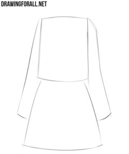 How to draw anime clothes female