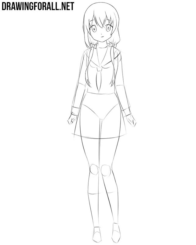 Easy to draw an anime girl