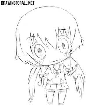 How to Draw Chibi Yuno Gasai