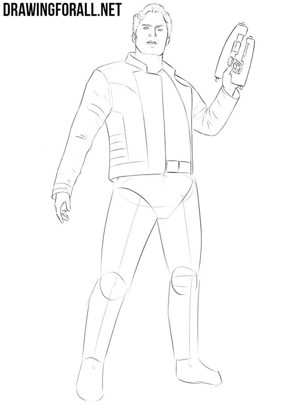 How to draw Star Lord full body