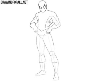 Spider-Man drawing easy