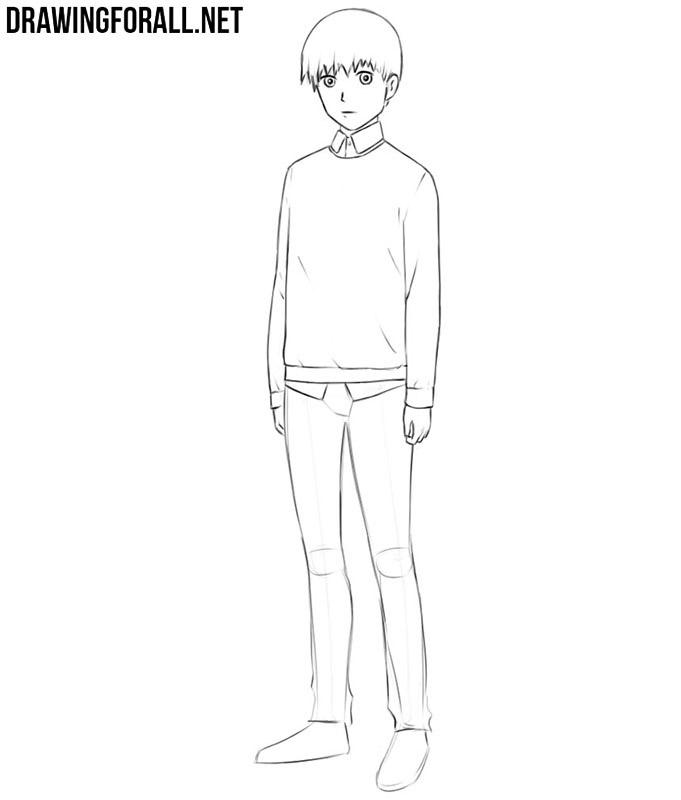 Anime easy drawings