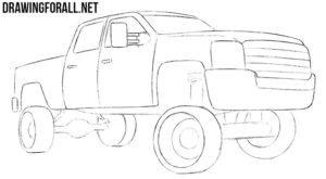 Truck drawing