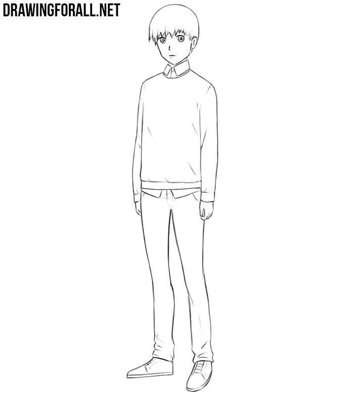 Easy anime drawings