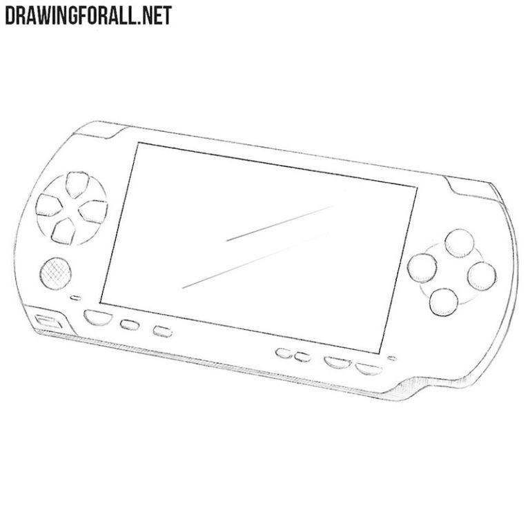 How to Draw a PSP