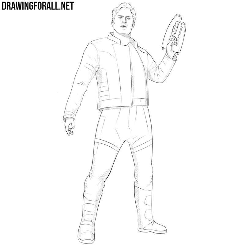 Big Cars: How To Draw Star Lord