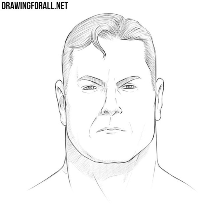 How to Draw Superman's Face