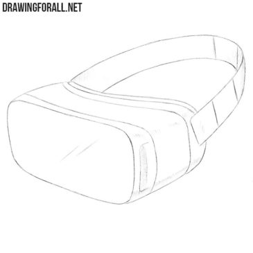 How to Draw a VR Headset
