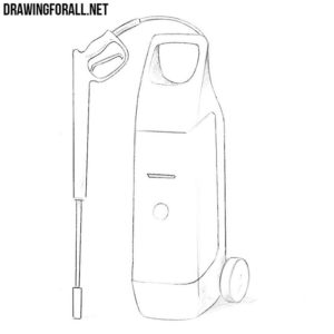 How to draw a car washer