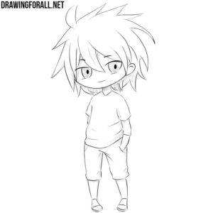 How to draw a chibi character