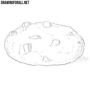 How to draw a cookie