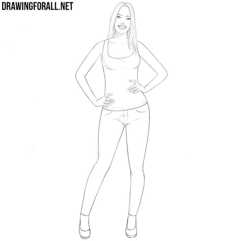 How to Draw a Girl Easy