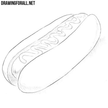 How to Draw a Hotdog