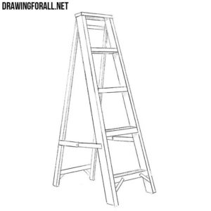 How to draw a ladder
