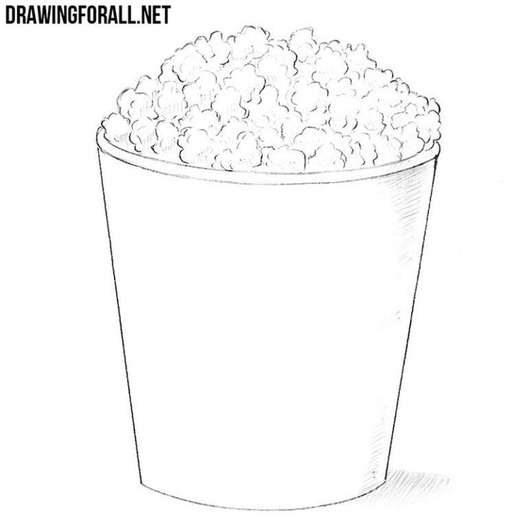 How to Draw Popcorn