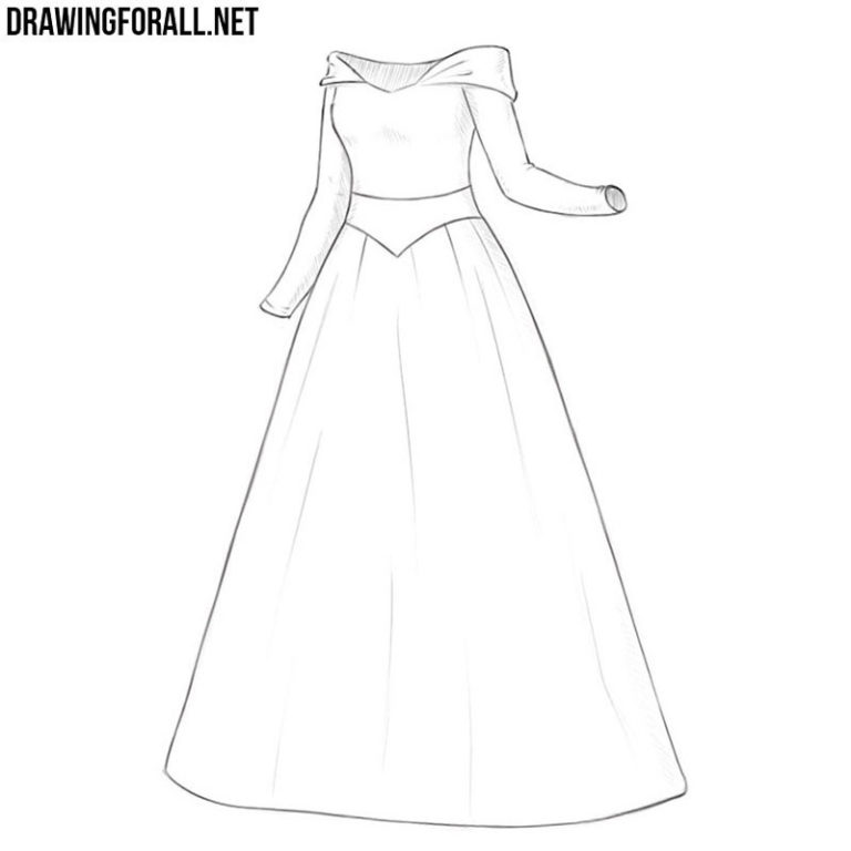 How to Draw a Princess Dress