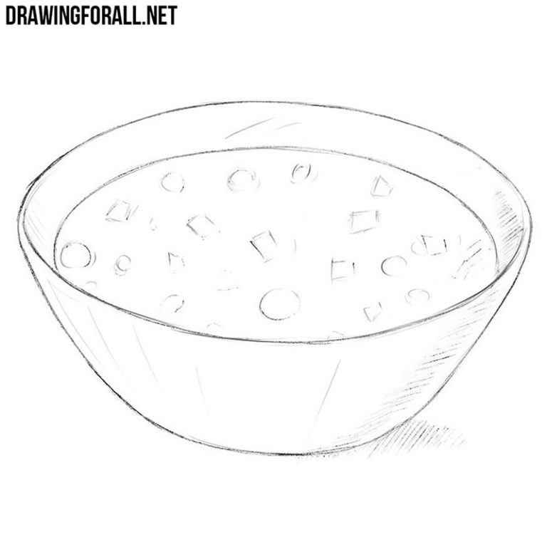 How to Draw a Soup