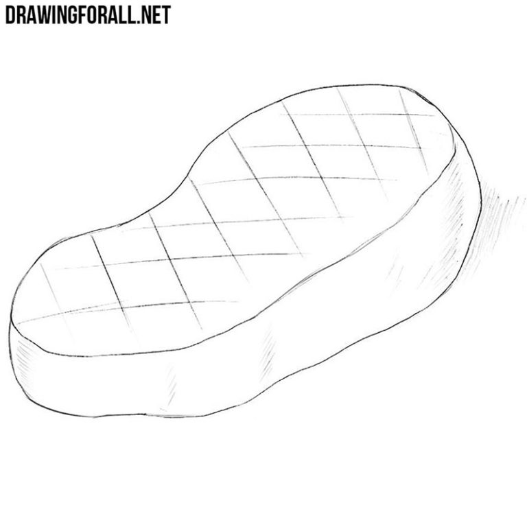 How to Draw a Steak