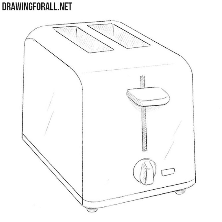 How to Draw a Toaster
