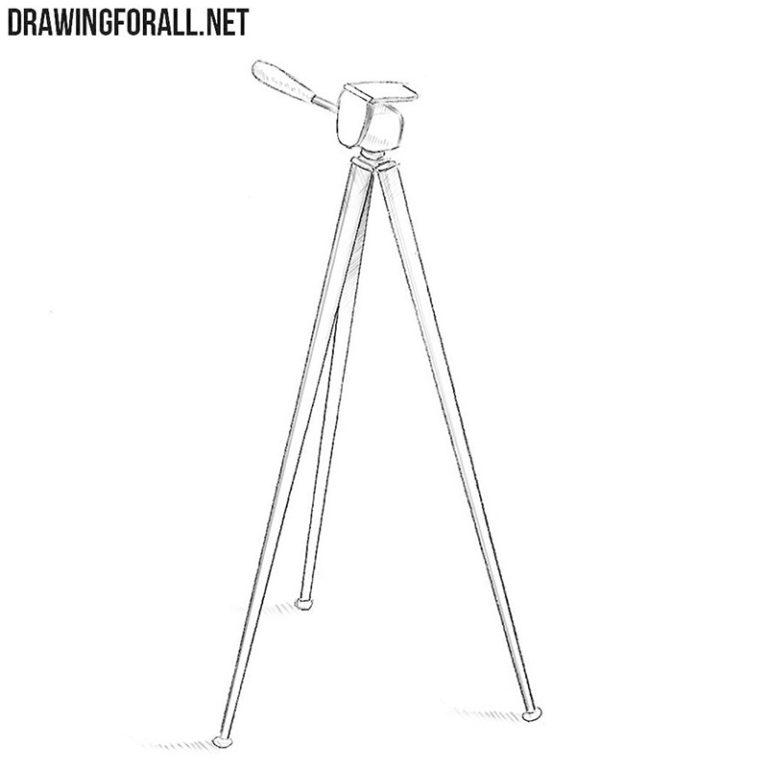 How to Draw a Tripod