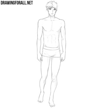 How to Draw an Anime Body