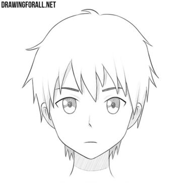 How to Draw an Anime Face