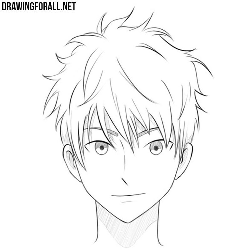 How To Draw An Anime Head Drawingforall Net