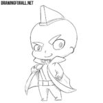 How to Draw Chibi Yondu