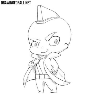 How to Draw Chibi Yondu