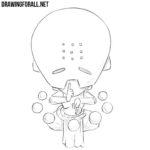 How to Draw Chibi Zenyatta