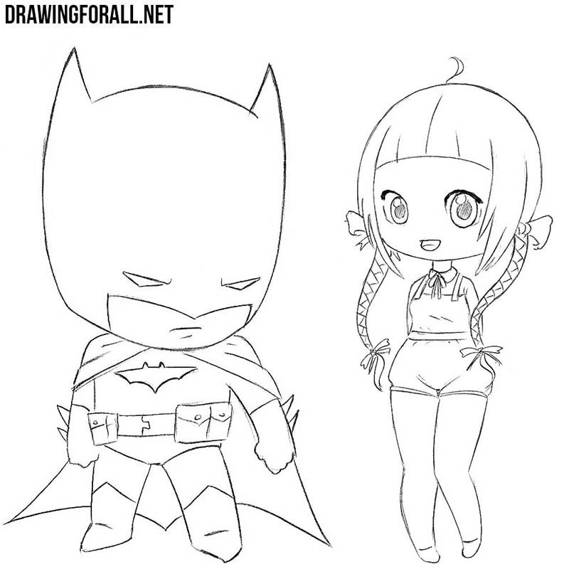 How to draw chibi easy