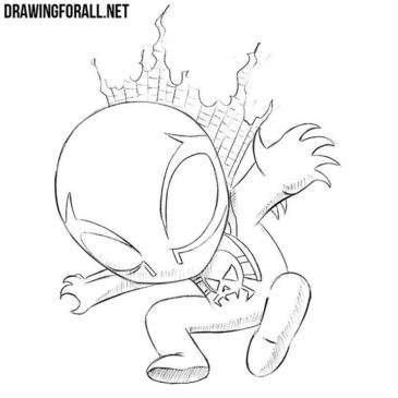 How to Draw a Chibi Superhero