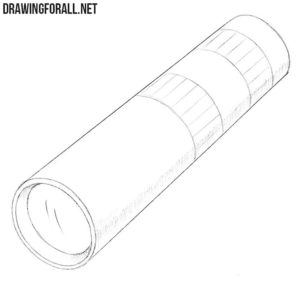 How to draw monoculars