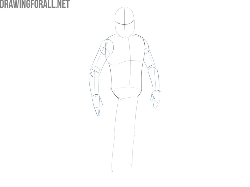 How to Draw Jango Fett easy step by step