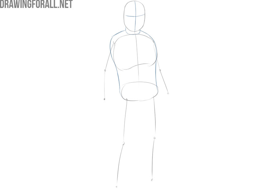 How to Draw The Mandalorian easy