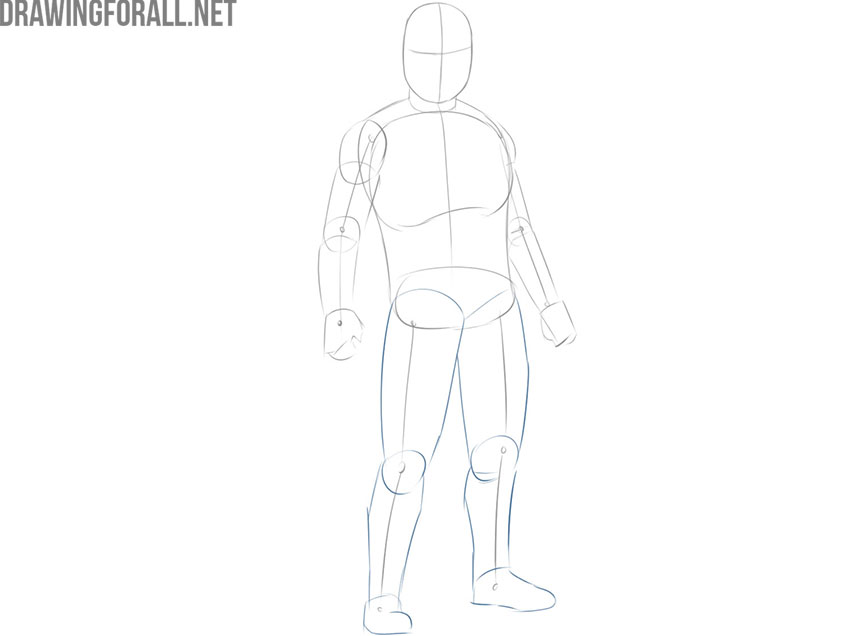 How to Draw The Mandalorian step by step easy