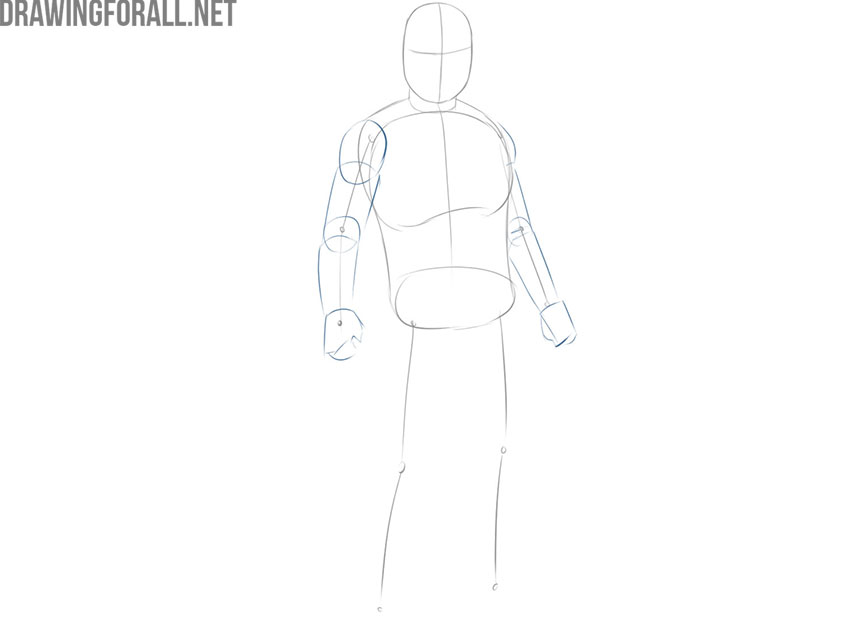 How to Draw The Mandalorian step by step