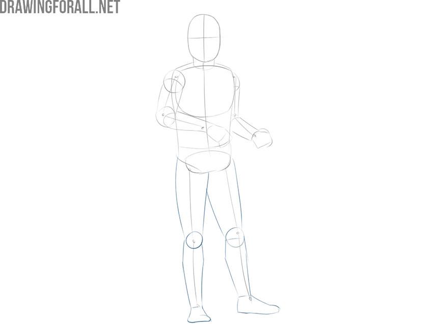 How to draw Boba Fett easy